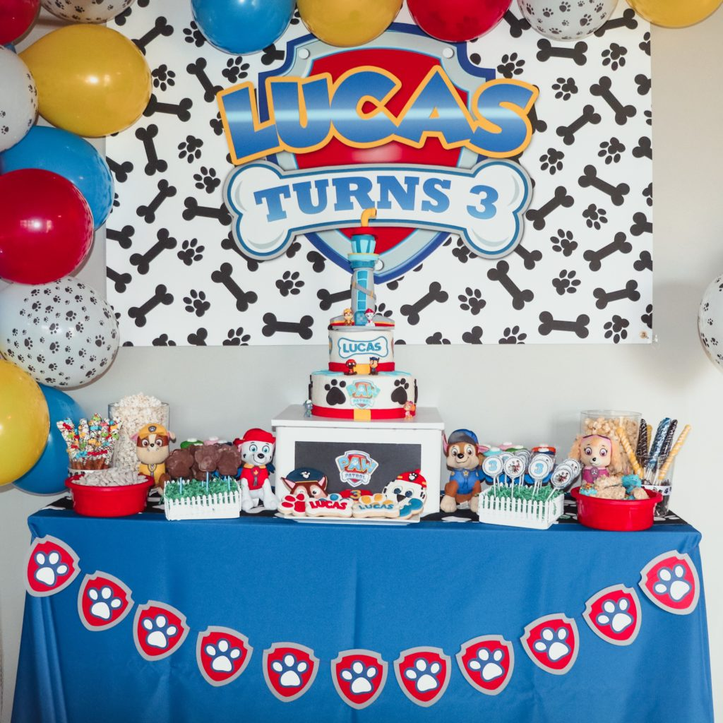 photo regarding Paw Patrol Printable Decorations named Paw Patrol Birthday Occasion With An Undertake A Doggy Rescue -