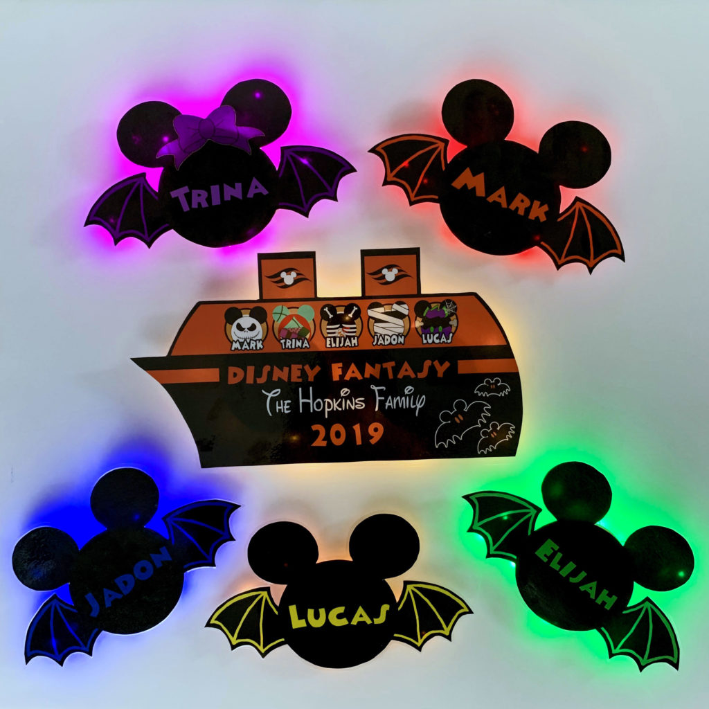 How To Make Disney Cruise Light Up Door Magnets