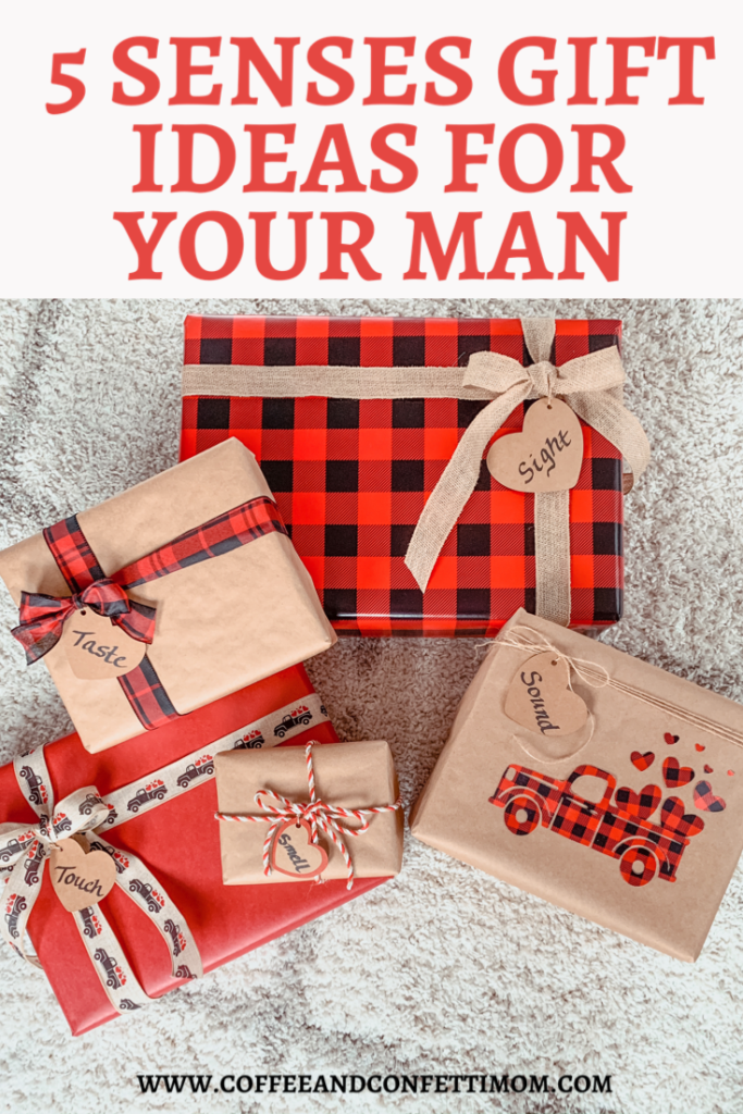 5 Senses Gift Ideas For Him That He Will Love